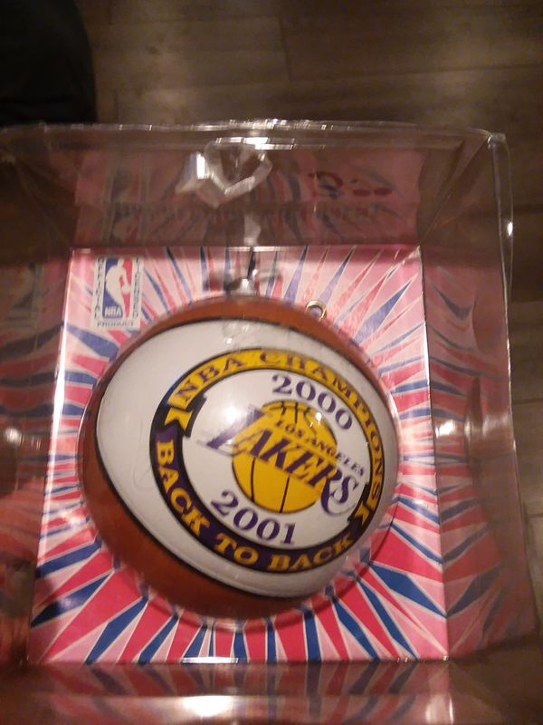Lakers ornament