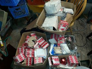 I have boxes and boxes of motorcycle parts for Sale in Columbus, OH