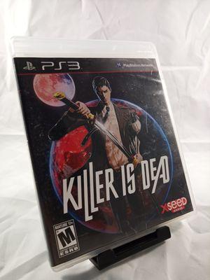 Killer is Dead Cib for Ps3 for Sale in Phoenix, AZ
