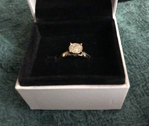 Real 14K Gold Ring with Diamonds for Sale in Boston, MA