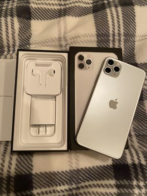 Silver iPhone 11 max pro for Sale in Portland, OR