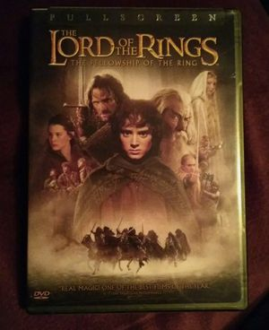 Lord of the Rings The Fellowship of the Ring for Sale in Sanborn, NY
