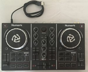 Numark DJ Controller party mix edition with lights for Sale in Santa Clara, CA