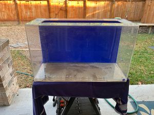 SeaClear Acrylic Aquarium 30 gallons plus Fluval 307 Performance Canister Filter for Sale in Spring, TX