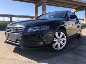 2012 Audi A4, ONLY 79k MILES! CLEAN TITLE! FINANCE AVAILABLE for Sale in Dallas, TX