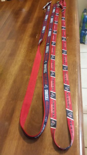 Texans Dog Leashes for Sale in Deer Park, TX