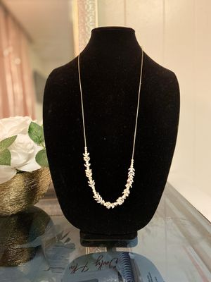 Silver And gray necklace for Sale in Philadelphia, PA