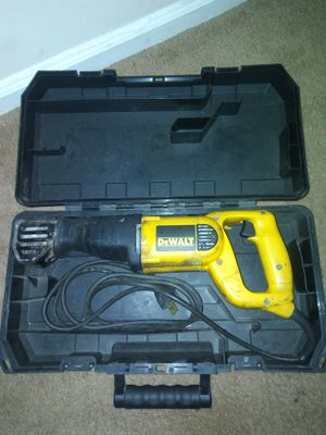 DeWALT SawZall for Sale in Charlotte, NC