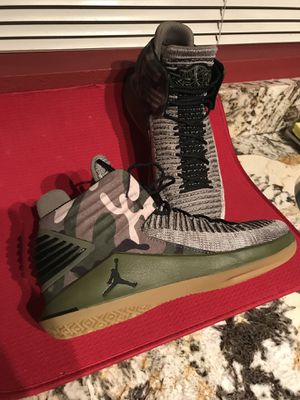 Michael Jordan Shoes Size 9 - Camo Rare Find for Sale in Seattle, WA