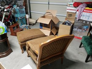 Chair and ottoman for Sale in Tempe, AZ