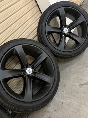 """Dodge Challenger Charger RT Hemi Wheels Rims Tires OEM Factory 20"""" for Sale in Los Angeles, CA"""