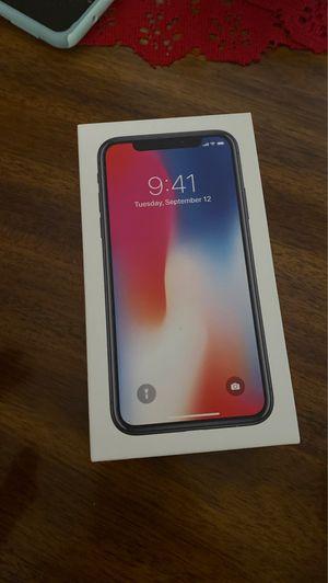 iPhone X 64gb for Sale in Dallas, TX