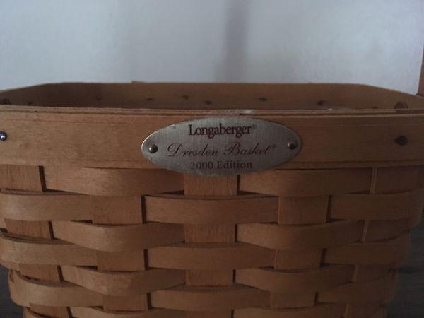 Longaberger 2000 Edition Dresden Basket