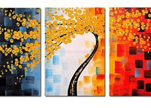 (Free Shipping) FLY SPRAY 3-Piece Framed 100% Hand Painted Oil Painting for Sale in Lexington, KY