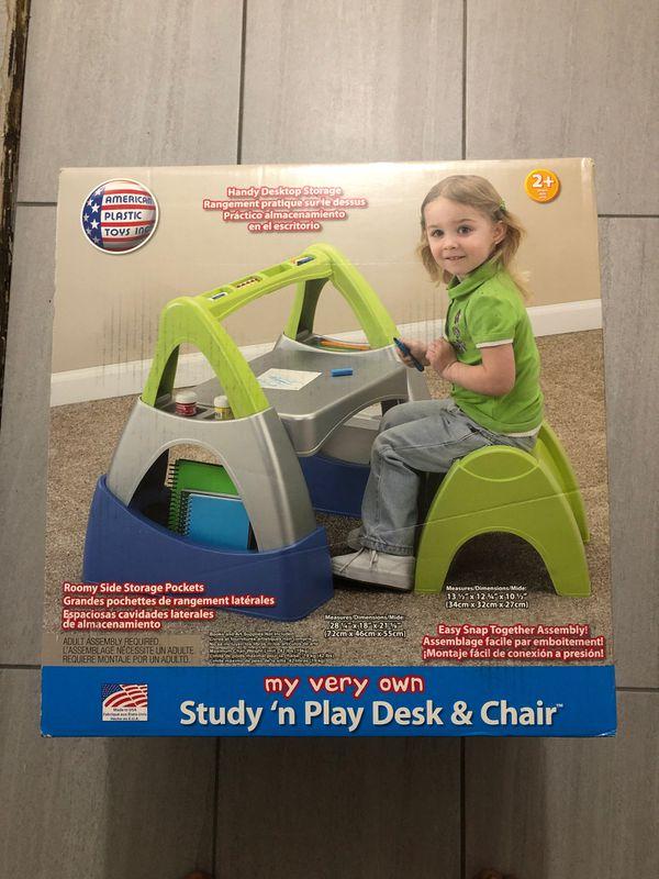 My very own study n play desk & chair
