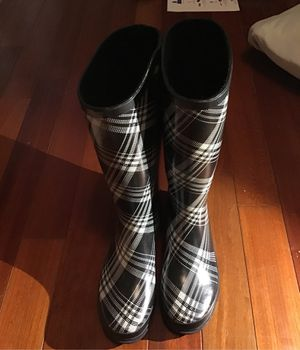 Cute Plaid Rain Boots for Sale in Miami, FL