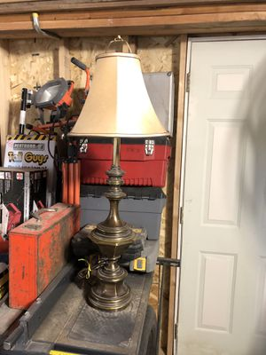 Antique Bronze Lamp for Sale in St. Louis, MO