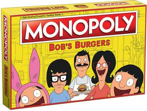 MONOPOLY®: Bob's Burgers Board Game USAopoly for Sale in Parlier, CA
