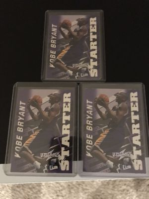 1997 98 Fleer Ultra ULTRABILITIES STARTER Kobe Bryant #3 $20 each. Check out my other items for sale. Pick up in Lombard for Sale in Lombard, IL