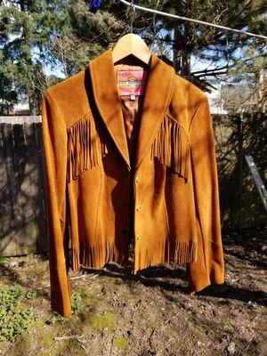 Vintage Fringe Leather Jacket for Sale in Portland, OR