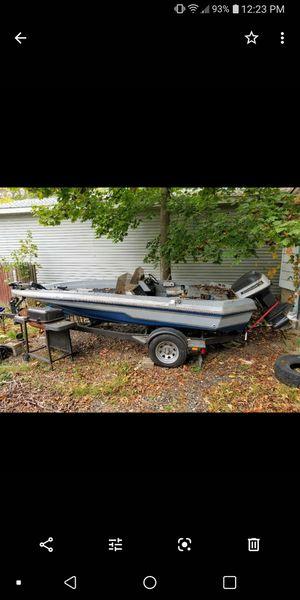 89 Rajan Cajin bass boat 1300 obo for Sale in Ravenna, OH