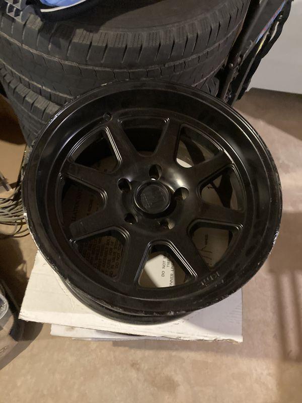 KMC Jeep wheels, 17x9, Set of 4