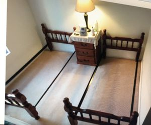 Twin Bed & Mattress (2) for Sale in Mentone, CA