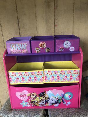 Toy Paw patrol toy Storage box for Sale in Jefferson, NC