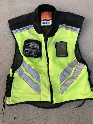 Icon motorcycle reflective vest for Sale in San Diego, CA
