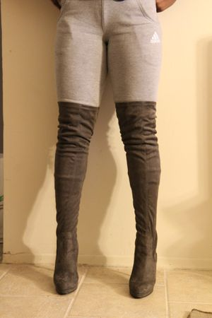 Forever 21 Thigh High Boots / Size: 8.5 for Sale in Bloomfield, NJ