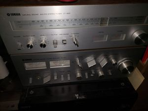 Yamaha and Sony stereo equipment for Sale in Knoxville, TN