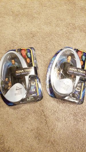 Star Trek Deep Space Nine Action Figures for Sale in Lacey, WA