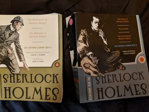 Two Sherlock Holmes books for Sale in St. Louis, MO