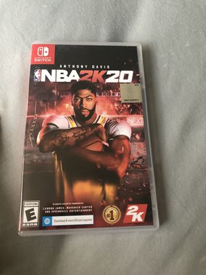 Nba 2k20 for nintendo switch for Sale in Ruskin, FL