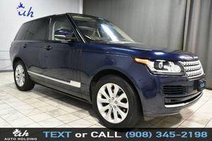 2017 Land Rover Range Rover for Sale in Hillside, NJ