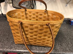 Longaberger basket for Sale in Alexandria, VA