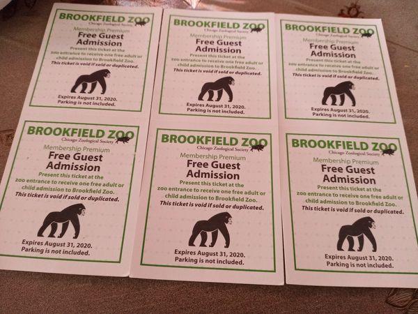 Zoo tickets