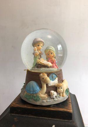 Precious moments Baby Jesus snow globe for Sale in Wilmington, DE