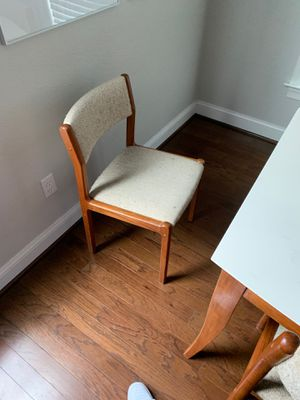 Modern danish dining chairs for Sale in Chesapeake, VA