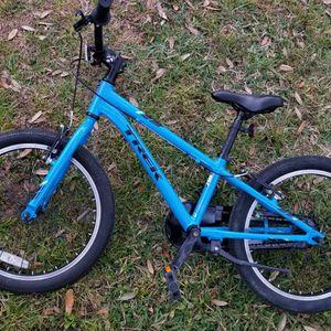 Kids Trek Precaliber 20 Hybrid Aluminum Bicycle Blue Carbon Lightweight Youth Boys Girls Road Trail Bike for Sale in Tampa, FL