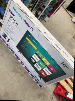 Hisense roku 50 inch tv 😎😎😎😎 WC G for Sale in DeSoto, TX