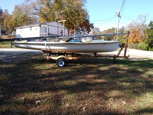 Early 80's Sailboat and trailer for Sale in Gravois Mills, MO