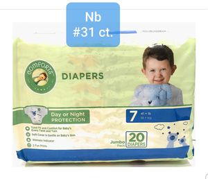 NEWBORN diapers(31) for Sale in Canby, OR