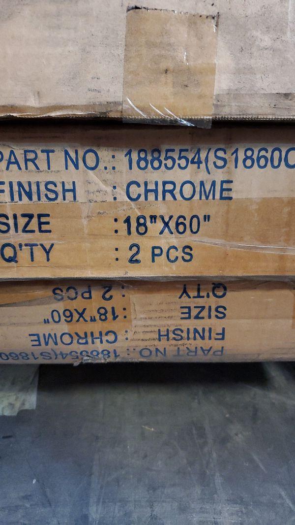 "NSF Metal Shelf 60"" x 18"" Additional Chrome Wire Shelves"