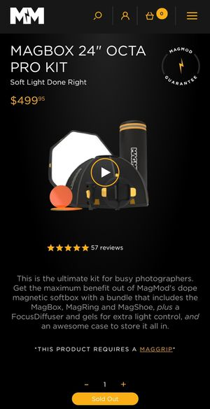 """Magmod Magbox 24"""" Pro Kit Brand NEW for Sale in Orlando, FL"""