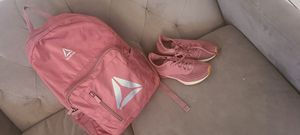 Reebok backpack and shoes for Sale in Phoenix, AZ
