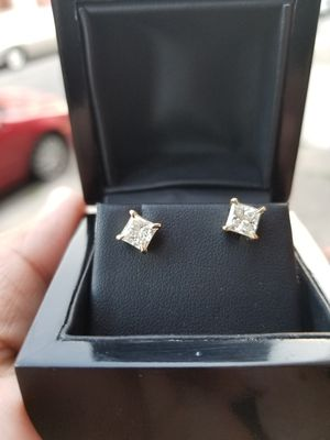 Cushion Cut Diamond Earrings for Sale in Philadelphia, PA