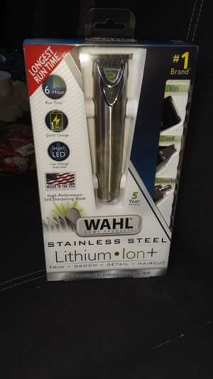 wahl stainless steel lithium ion+ for Sale in Walker, MN