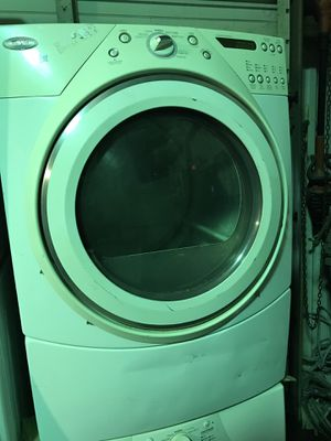 Washer and dryer ( FRONT LOADERS ) for Sale in Houston, TX