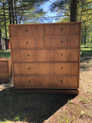 Drexel Chest of Drawers and Night Stand for Sale in Kalkaska, MI